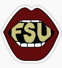 FSU Lips Sticker