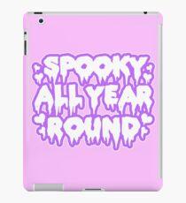 Spooky All Year Round - Pastel Goth iPad Case/Skin