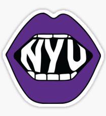 NYU Lips Sticker