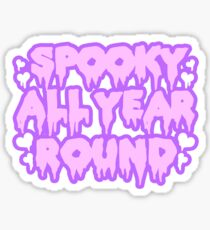 Spooky All Year Round - Pastel Goth Sticker
