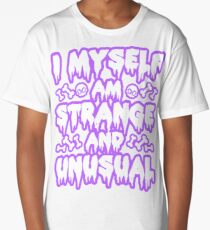 Strange and Unusual - Pastel Goth Long T-Shirt