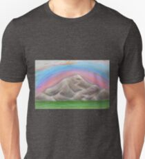 Colorful Mountain Unisex T-Shirt