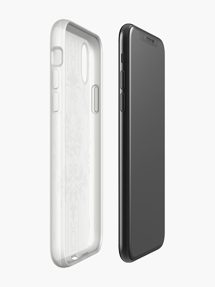 Alternative Ansicht von Rosenbouquet Grau... iPhone-Hülle & Cover