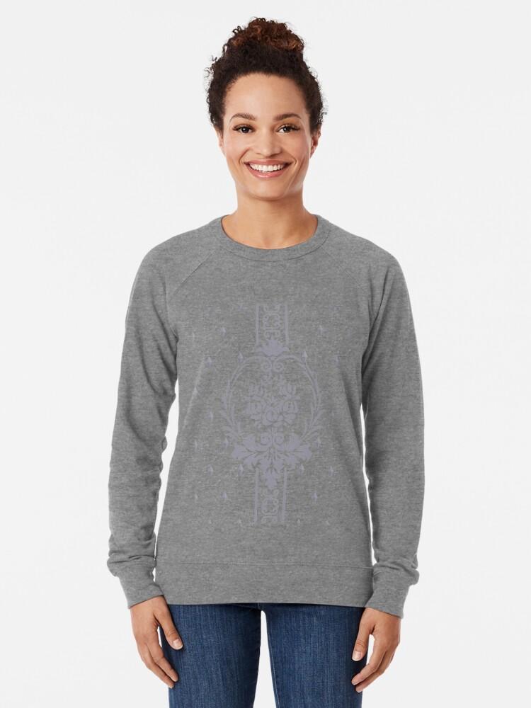 Alternative Ansicht von Rosenbouquet Grau... Leichter Pullover