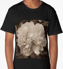 Vintage Peony Bloom Long T-Shirt