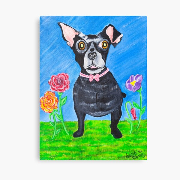 A Whimsical Dog - Doggone Delightful Canvas Print