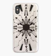compass iPhone Case/Skin