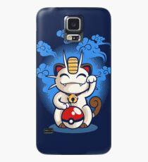Lucky Meowth Case/Skin for Samsung Galaxy
