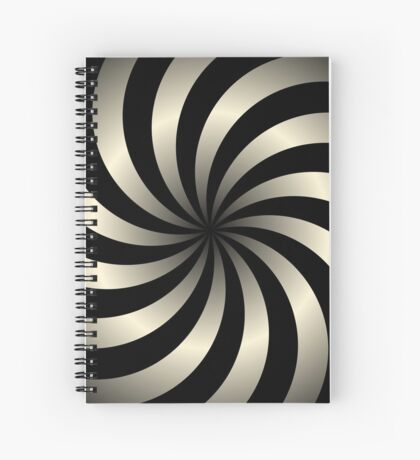 NDVH Circle Two - cream gradient Spiral Notebook