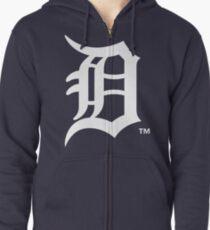 detroit tigers Zipped Hoodie