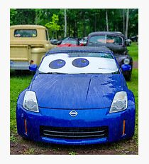 2006 Nissan 350Z in the rain Photographic Print