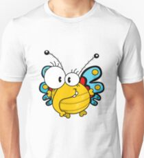 Cartoon butterfly Unisex T-Shirt