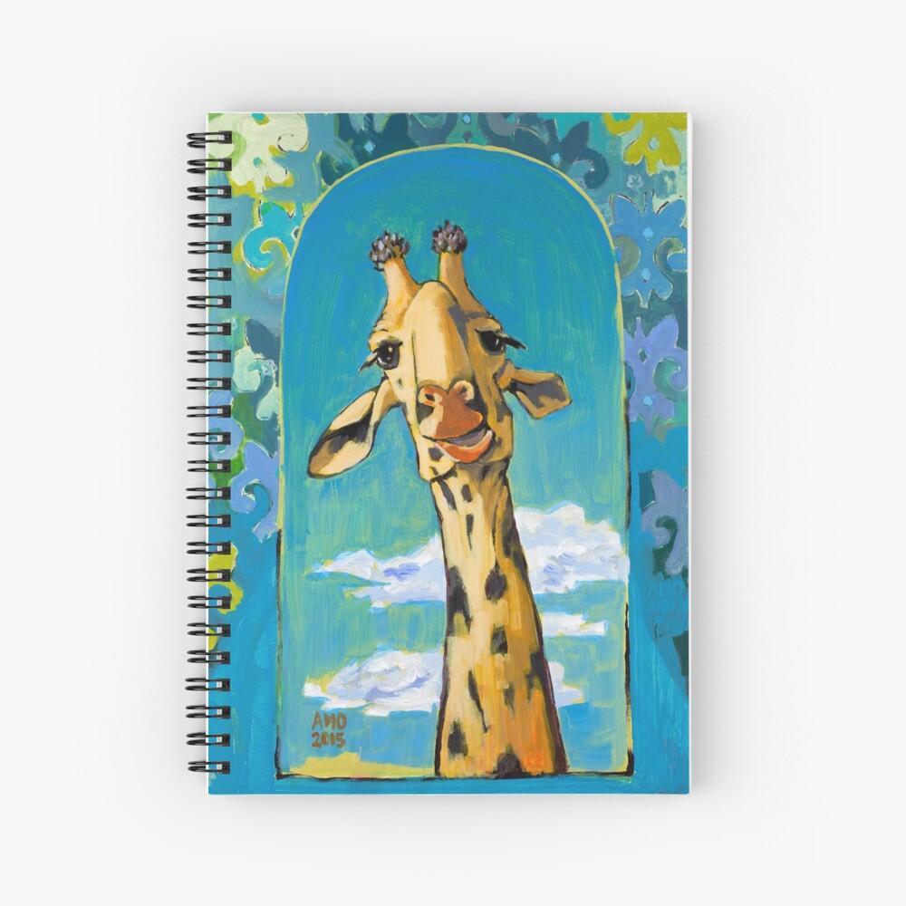 The Visit Spiral Notebook