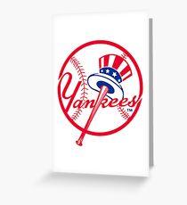 Yankees Greeting Card