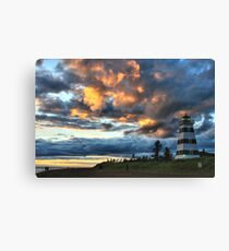Lighthouse - West Point Canvas Print