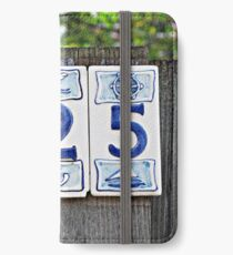Nautical Numbers iPhone Wallet/Case/Skin