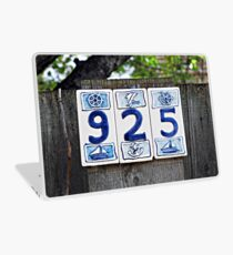 Nautical Numbers Laptop Skin