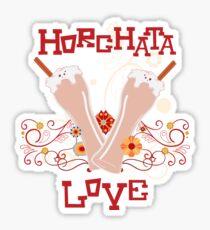 Horchata Love Sticker