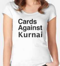 Cards Against Kurnai Women's Fitted Scoop T-Shirt