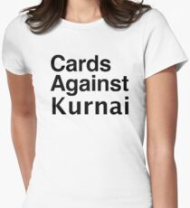 Cards Against Kurnai Womens Fitted T-Shirt