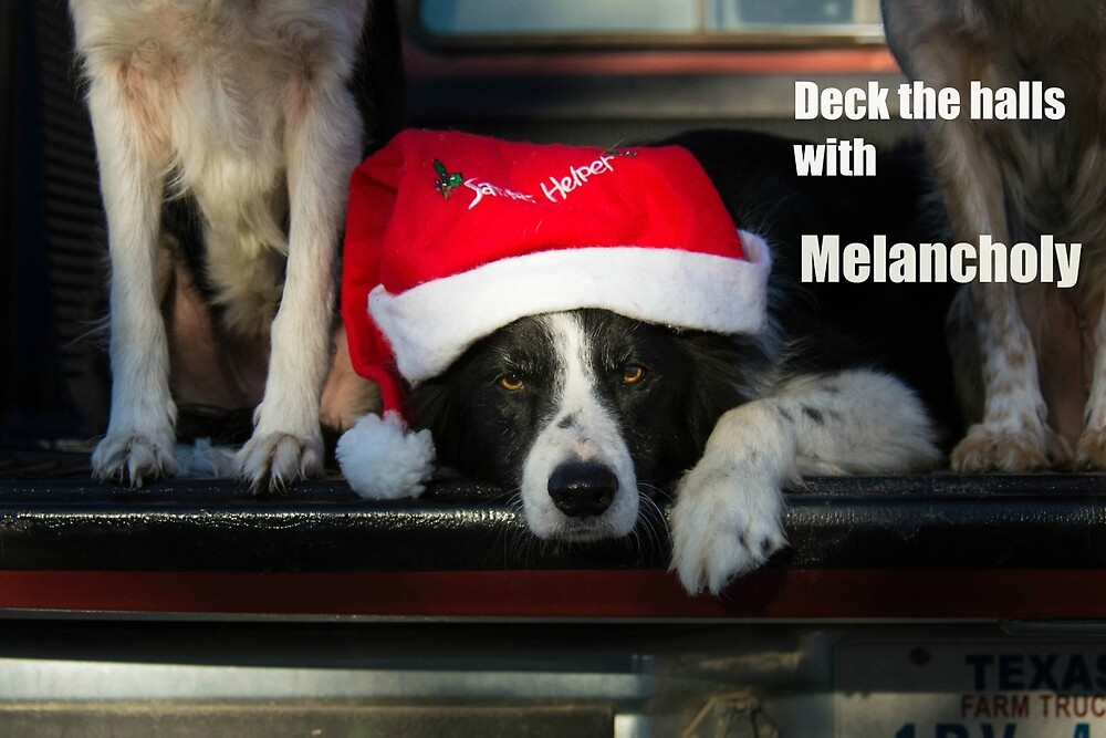 deck the halls with melancholy by Texas Sheepdogs