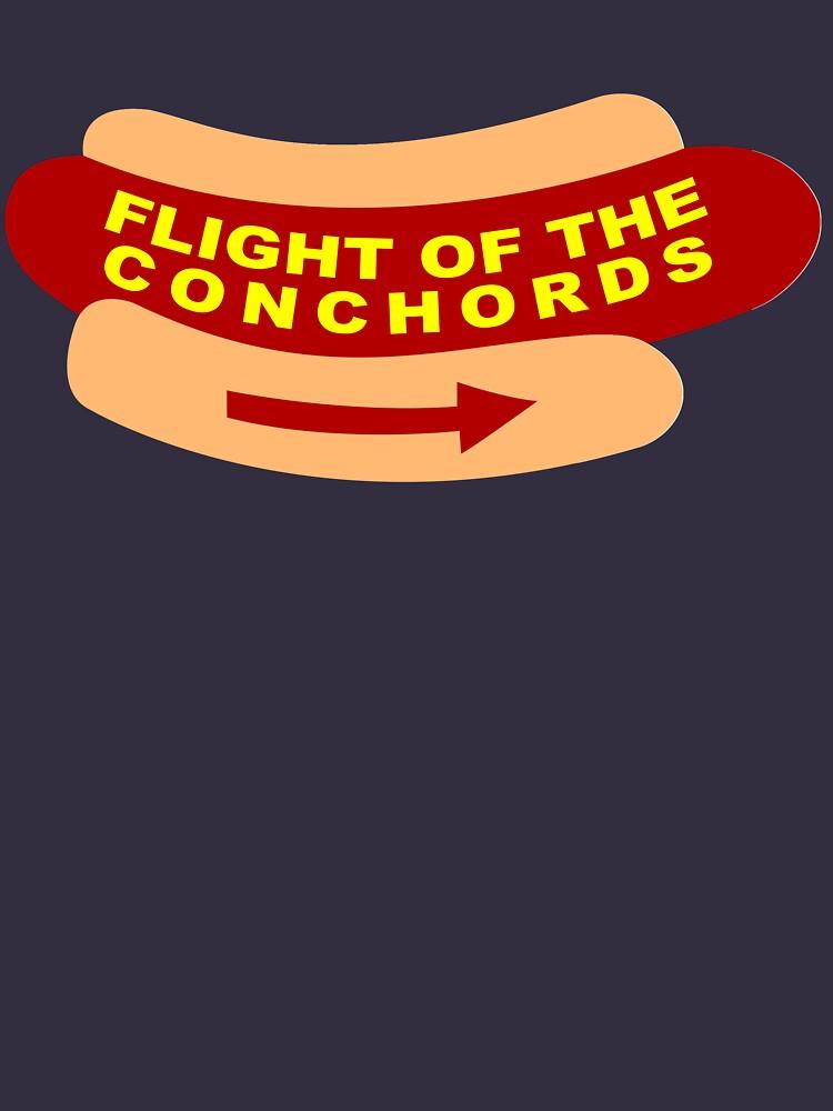 Vuelo del signo de la banda de Conchords de dillonchr