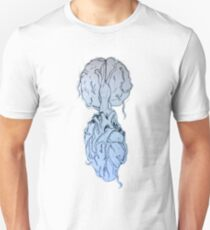 Heart-Brain Unisex T-Shirt