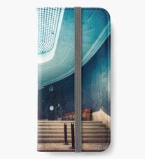 The blue stair iPhone Wallet/Case/Skin