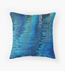 Shelley by the Sea - Calm Reflections Throw Pillow