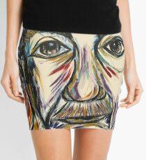 Minifalda Retrato abstracto de Albert Einstein