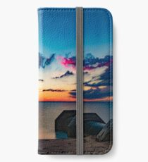 Long Exposure Sunset iPhone Wallet
