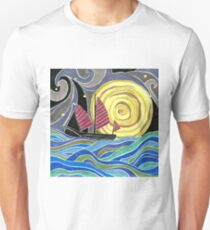 Traveling by Moonlight Unisex T-Shirt