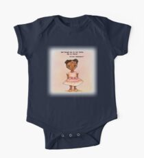 Little African princess in pink with quote Kids Clothes
