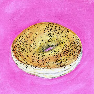 Poppyseed Bagel by allybdesign