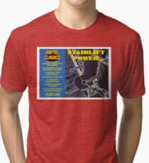 STAIRLIFT POWER - classic tracks from Kay-Tel Tri-blend T-Shirt