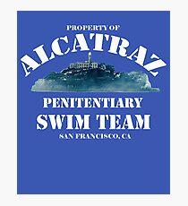 Alcatraz Penitentiary Swim Team Photographic Print