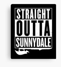 Straight Outta Sunnydale Canvas Print
