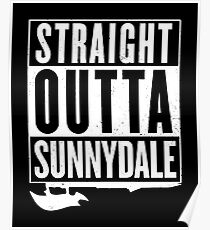Straight Outta Sunnydale Poster