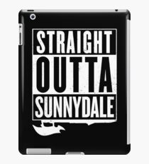 Straight Outta Sunnydale iPad Case/Skin