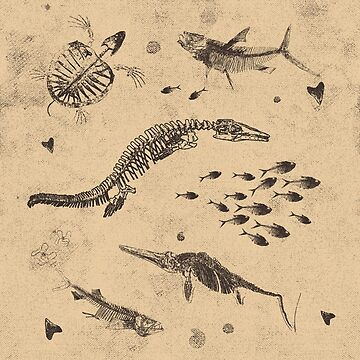 Creatures of the Western Interior Seaway by tr1449