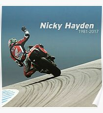Bye nicky - 69 we miss you Poster
