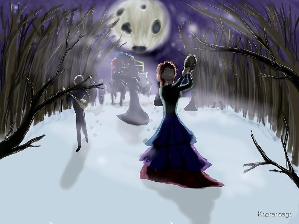 Winter Gypsies by Keeransage