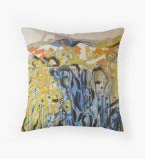 Sun-steeped Throw Pillow