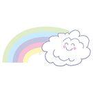 Rainbow Floof by eshcaine