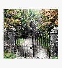 hidden kirk Photographic Print