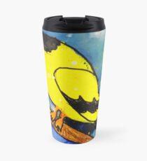 Multiple Color Mashup Winter Bird Travel Mug