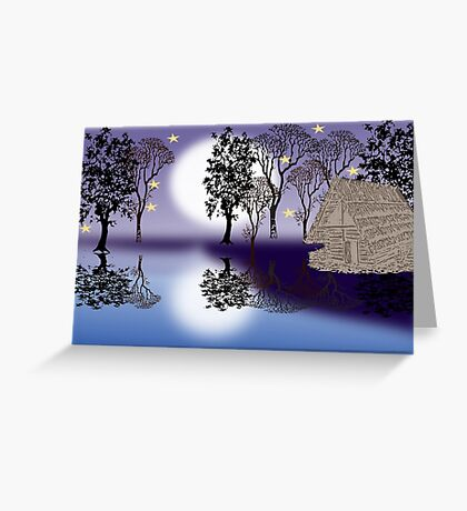 In the woods ( 1351 Views) Greeting Card
