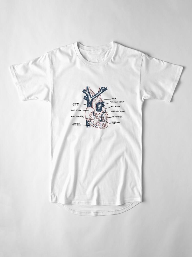 Alternative Ansicht von Cardio in Farbe Longshirt