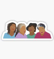 Squad Goals- Queens of African American Literature Sticker