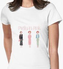 Pretty in Pink Trio Women's Fitted T-Shirt